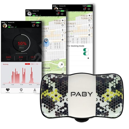 Paby GPS tracker a monitor aktivity
