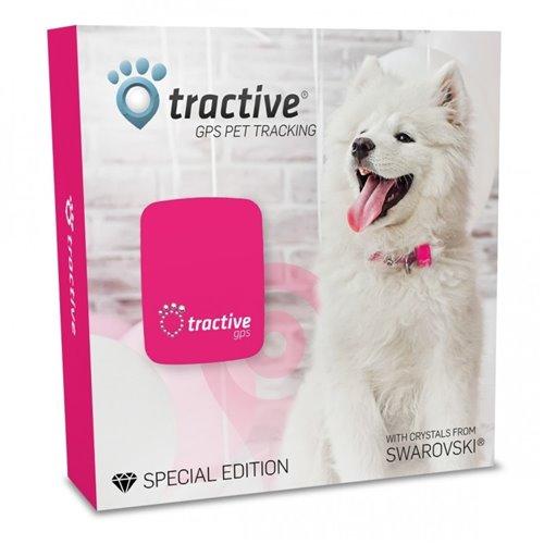 Tractive GPS Tracker s krystaly Swarovski® pro psy a kočky