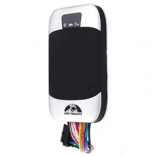 GPS GSM lokátor na motorku pro připojení na 9-40V baterii