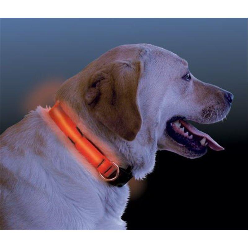 Svítící LED obojek na baterie