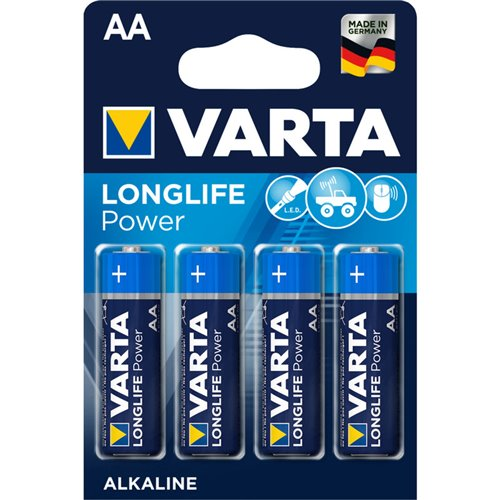 Baterie Varta Longlife Power AA 2850mAh 4ks