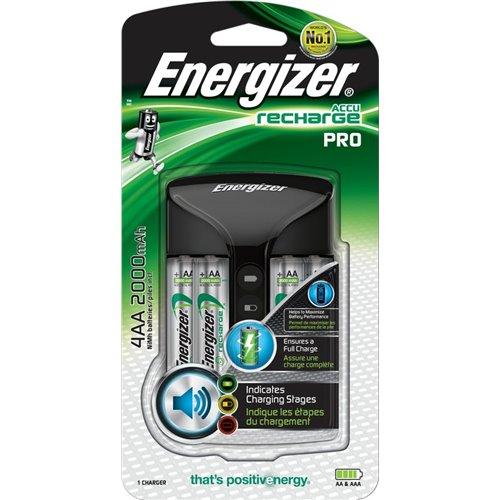 Nabíječka Energizer Pro + 4AA nabíjecí baterie Power Plus 2000mAh